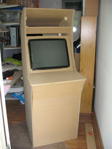 Scratch build custom street fighter arcade cabinet upd7 jul 09 sf hes up again with tv placed malvernweather Images