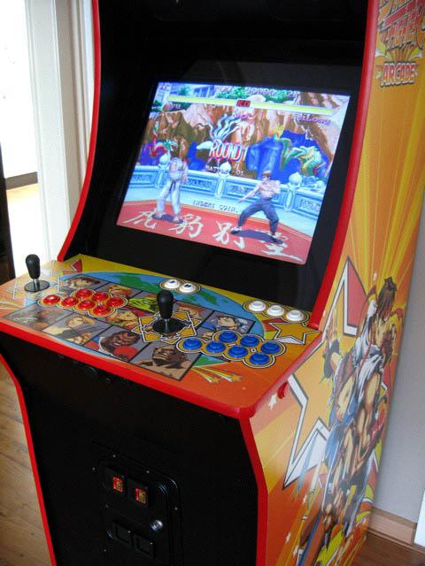 Scratch Build Custom Street Fighter Arcade Cabinet (upd.7-Jul-09 ...